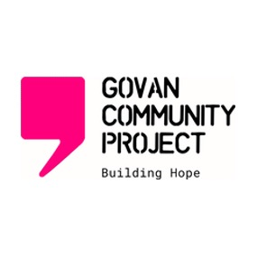 Govan Community Project building hope logo