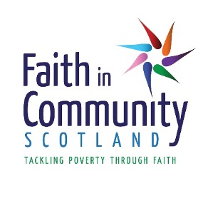 Faith in Community Scotland tackling poverty through faith logo