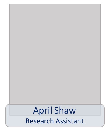 April Shaw research assistant