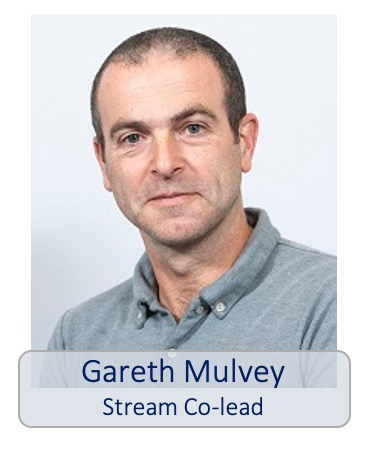 Gareth Mulvey stream co-lead
