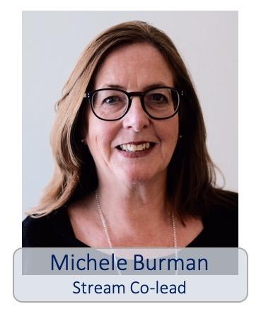 Michele Burman stream co-lead