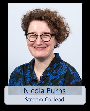 Nicola Burns stream co-lead