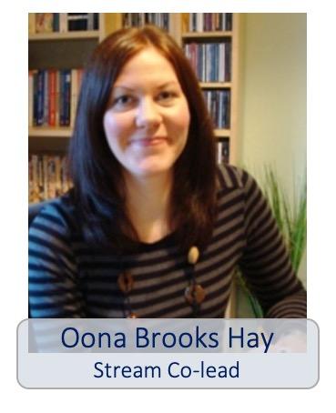 Oona Brooks-Hay stream co-lead