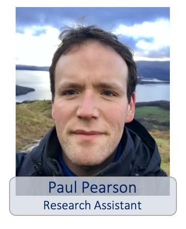 Paul Pearson research assistant