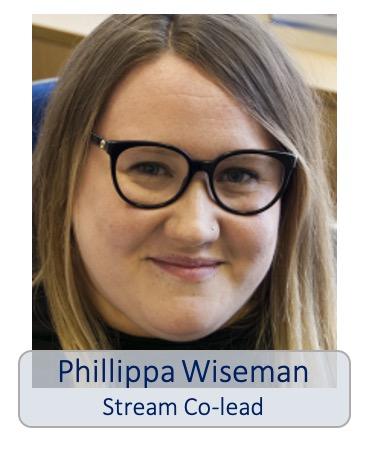 Phillippa Wiseman stream co-lead