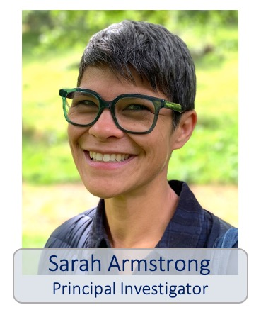 Sarah Armstrong principal investigator